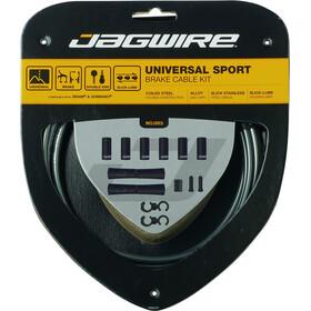 Jagwire Sport Universal Bremszugset für Shimano/SRAM eisgrau
